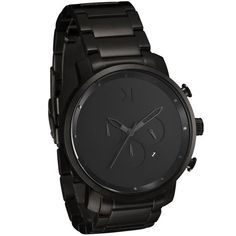 Chrono All Black | MVMT Watches - designer watches mens, mens watches online store, fine mens watches