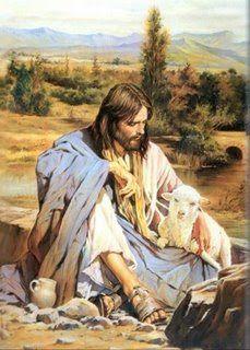 Image result for imagens de jesus bom pastor