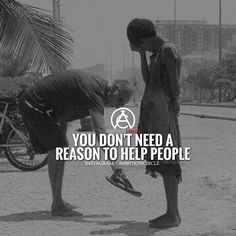 Help people because you want to. Not because you have to. #success. #quotes…