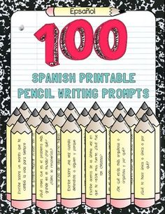 These 100 Spanish printable writing prompts (and conversation starters!) are perfect for any language-learning, bilingual, ESL/ELL/Emergent Bilingual, or SIFE classroom! Prompts range from questions about students' personal lives, emotions, lived experiences, moral opinions, and responsibilities.