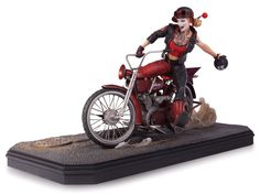 Amazon.com: DC Collectibles Gotham City Garage: Harley Quinn Statue: Toys & Games