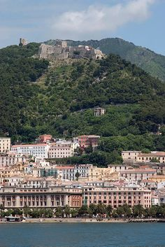 One night in Salerno is not enough but it's better than nothing: Castle of #Arechi, #Salerno, Italy