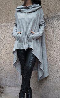Women Solid Irregular Hem Casual Loose Long T-Shirt Dress