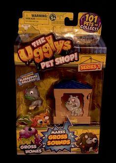 Ugglys Pet Shop Ugly Gross Blubbering Bulldog Home Moose Toys New | eBay