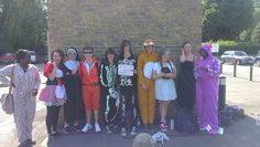 Last Thursday, the D-reem Team spread some fancy dress joy by walking from #Hemel to #Tring for their #NCS Social Action Project ‪#‎NCSYes