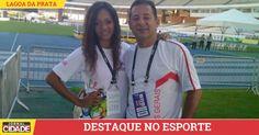 Atleta e técnico de Lagoa da Prata receberão bolsa do Programa Minas Olímpica.>http://goo.gl/mRyLo2