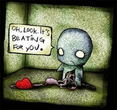 It's beating for you.