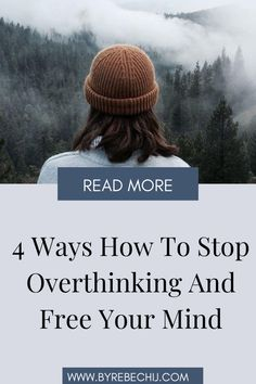 Do you want to learn how to stop overthinking and relax? Are you going over and over problems? Are you always stressed out and anxious just because of your thoughts? Check out these 4 powerful ways to stop overthinking! Warning : they are life changing! Improve your mindset and thinking by implementing these mindful practices in your daily life! #mind #body #soul #mindset #overthinking #stressedout #anxiety #depression Benefits Of Mindfulness, Mindfulness Activities, Wellness Tips, Health And Wellness, Health Tips, Depression Recovery, Depression Symptoms, Anxiety Tips, Deal With Anxiety