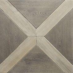 "Zenati & Edri Parquet, Design 5 30.5""x35.25"" Larochette custom handmade luxury wood flooring and parquet"