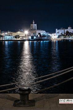 Málaga, la nuit,Spain | Flickr – Compartilhamento de fotos!
