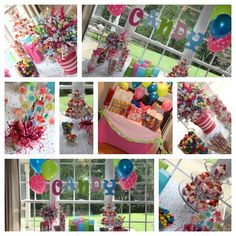 Candy Themed Birthday Cakes | candy theme party