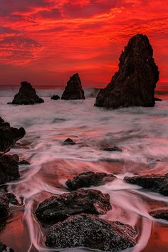 The Moment on Rodeo Beach by Evgeny Tchebotarev