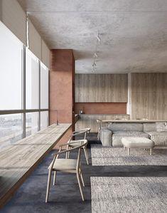 Terracotta. dmitryman.com dmitrymandesign@gmail.com #interiordesign #concept #minimalism #visualization #CG_graphic #ukraine #dnepr #wood #parquet #stone #plaster #stucco #minimalistic #style #rustic #ideas #inspiration #natural #simple #furniture #moodboard #concrete #minimal #calm #monochrome #grey #cozy #warm #art #lifestyle #livingroom #livingroomdesign