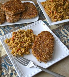 If you were to come to my home for dinner, odds are this is what I will be serving. Pecan crusted pork chops are an absolute favorite in this house. They are a simple, yet impressive dinner that co...