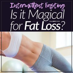 If you're looking for a magic bullet to help you lose weight, Intermittent Fasting might be the answer. That's what some people think and I'm not here to tell them they're wrong. There are plenty of studies out there that show how it can have benefits on fat loss and body composition but as with everything my advice is always: do your research before jumping in head first into an eating regimen that sounds too good to be true.