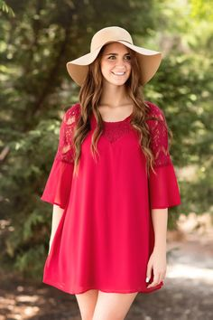 Fall Fashion, Fall Dress, Boho Dress, Boho Chic, OOTD- Lost In You Dress-Cranberry by Jane Divine Boutique www.janedivine.com