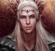 Thranduil Portrait by Jay-Carpenter on DeviantArt