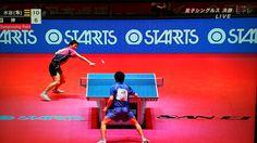 水谷選手、神との戦いに勝つ!#全日本卓球選手権