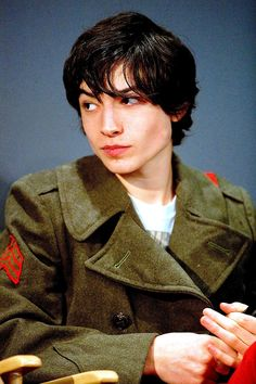 "Ezra Miller. ""We Need To Talk About Kevin"" is a fantastic movie...it's sad but fantastic."