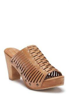 183b42fd233a Trask Wendy Block Heel Mule Sandal Heeled Mules Sandals