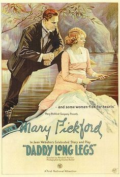 Mary Pickford | 'Daddy Long Legs.'.  I didn't realize there was a movie... This is one of my favourite books.