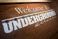 """Jun 2019 - Located in the heart of the downtown, Underground Atlanta is one of the city's favorite attractions and a cultural hub. Opened in 1969 as a """"city beneath the streets,"""" Underground Atlanta still. Atlanta Underground, Underground Cities, Atlanta Attractions, Atlanta Neighborhoods, Inman Park, Cheap Date Ideas, Moving To Another State, Georgia On My Mind, Atlanta Georgia"""