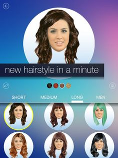 Hair MakeOver - new hairstyle and haircut in a minute by Heroqai LTD