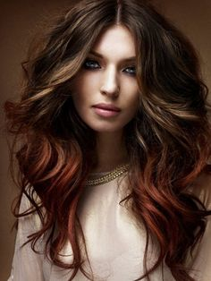 Chocolate Brown Hair Color Ideas - Nothing is as delicious as chocolate, and no hair color is as rich and luscious as a chocolate brown with its tasty color menu: from light and caramel to dark.