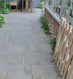 The Country House range of traditional paving flagstones, kerbstones, and fine shingle has been inspired by the nation's fine stately homes and country houses. Garden Paving, Garden Landscaping, Patio Design, Garden Design, Great Paintings, Brick And Stone, Tree Tops, Flagstone, Country Estate