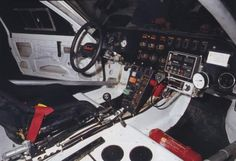 T16 rally car cockpit Peugeot 205 Turbo 16, Automobile, Rally Raid, 4 Wheelers, Car Drawings, Car Car, Subaru, Jdm, Cars Motorcycles
