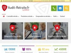 Les consultants d'Audit Retraite délivrent des informations liées au droit à la retraite.
