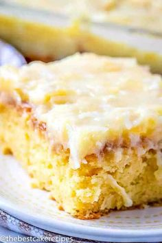 A yellow cake mix and vanilla pudding make this delicious pineapple cake such an easy dessert. Pineapple Cake has soda in the cake and coconut topping. 7up Cake Recipe, 7 Up Cake, 9x13 Baking Pan, Best Cake Recipes, Fun Recipes, Dessert Recipes, Favorite Recipes, Pineapple Cake, Pineapple Sheet Cake Recipe