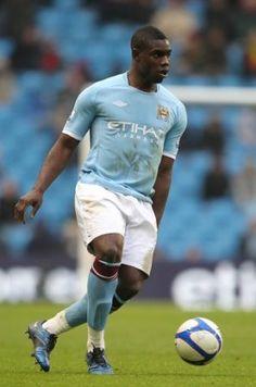 Micah Richards playing for Aston Villa