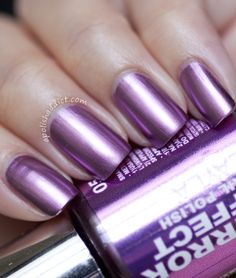 Purple Diva. A darker version of Cosmo Lilac (02). - from the Mirror Metallics collection for 2012