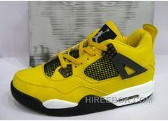 best website b3e09 4ba53 Air Jordan Retro 4 Lightning Tour Yellow White Black Livraison Gratuite,  Price   61.00 - Reebok Shoes,Reebok Classic,Reebok Mens Shoes