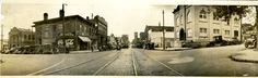 Street view of Thalian Hall 1930's style