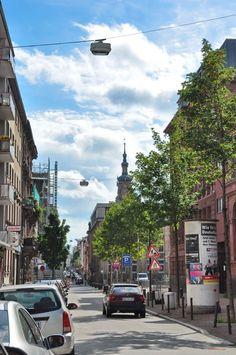 Mannheim Germany | Panoramio - Photo of Mannheim street (U3)