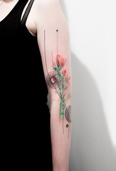 Marta Lipinski #tattoo #arm #ink