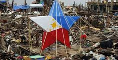 #HOPE. Survivors of Typhoon Haiyan #YolandaPH celebrated #Christmas with the Filipinos' most popular icon 'Parol' to inspire hope of better days ahead for themselves. http://www.abs-cbnnews.com/focus/12/24/13/defiant-yolanda-survivors-welcome-christmas