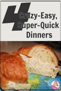 Here are 4 super easy, quick dinner ideas for a busy weeknight! A Slob Comes Clean, Main Dishes, Side Dishes, Printable Menu, The Allure, Freezer Cooking, Menu Planning, Super Easy, Dinner Ideas
