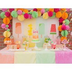 "L'anniversaire de Samantha sur le blog <span class=""emoji emoji1f49b""></span> #kidbirthday #anniversaire #deco #sweettable #fete ..."