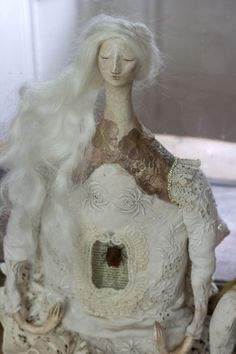 Art Doll handmade by Pantovola 'She is a Spirit now'