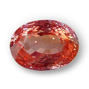 A fine example of a padparadscha stone... I personally like the ones with a slightly more orange hue... I'll pin an example when I find one.