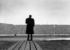 24 April US evangelist Billy Graham addresses a crowd of football supporters at Stamford Bridge, London, during the half-time at the match between CHELSEA and Newcastle United. Chelsea Football, Chelsea Fc, Billy Graham, Anne Graham, Stamford Bridge, Church History, Photo Essay, Newcastle, Poster Prints
