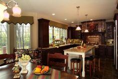 Scholz Design's Binghampton, Home Plan 55227 Kitchen