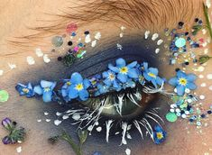 We Can't Stop Staring At These Terrarium Eye Creations #beauty #art #make up
