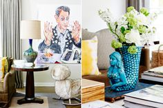Love that table lamp and the whole composition.  Recent Projects | Kishani Perera