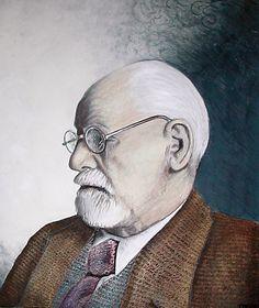 Sigmund Freud by JoBeeOne.deviantart.com