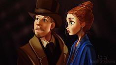 Artista imagina personagens da Disney nos filmes de Leonardo DiCaprio - Famosos - CAPRICHO