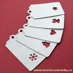 Photo: Originální visačky na dárky s prořezem vánočních motivů. http://www.tvorive.estranky.cz/eshop/produkt/890-visacky-na-darky-5-ks.html#desc